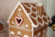 Christmas - Gingerbread Houses / by Debbie Overall