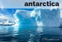 Destination: Antarctica / Destination: Travel to Antarctica, The 7th Continent. Icebergs, penguins, sunsets, kayaking, and whales. It's as if you left this planet.