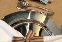 Labola Decor : Silver / Silver decor items available for hire for your special day from Labola.