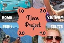Destination: Niece Project / What happens when an aunt takes her 6 nieces traveling with her around the world.