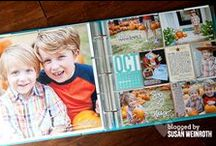 Scrap It (using PL) / Traditional scrapbook layouts using Project Life or other journaling cards.
