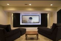 Basement Redo / Ideas for the TV room, laundry, and bar areas. / by Kelley Marie