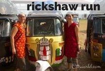 RickshawRun / Traveling 2,000 miles through India by motorized rickshaw, raising $15,000 for Charity: Water.