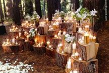 Labola Loves Woodland Weddings / greenery instead of flowers, fur instead of linen, branches, ivy and earthy colours are all a huge trend at the moment, brides are moving away from the glitz and glam and going for a more earthy, natural wedding. #labola.co.za