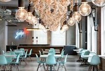 What's Trending In Office Spaces / What's Trends Are We Seeing In Office Spaces In 2014. Inspiration and pins from NeoCon 2014 from the #IntDesignerChat Community Twitter Chat on June 10, 2014.