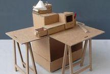 Paper | Pop up | Model / Cardboard , cut , mock up