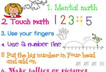 1st Grade Math / by Angela Bunyi