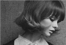 [60's As I Remember It] / Dress-up. Foam-rollers. Hats and white gloves. This was my Sixties / by Michelle Bradford