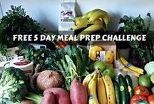 FREE 5 DAY MEAL PREP CHALLENGE / During the 5 Day Meal Prep Challenge we'll cover what it takes to be prepared and set yourself up for success when it comes to food.  Take it from a busy mom, with a career and business to manage.  I've been doing this for years and I know it works.  I deal with time, a picky toddler and a husband who needs a lot of variety with food, oh yeah – and myself who eats primarily plant based.  But, we make it work!
