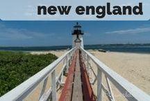 Destination: New England USA / Destination: Travel the New England states, USA - Maine, Vermont, New Hampshire, Massachusetts, Connecticut and Rhode Island.