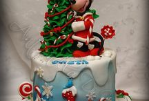 Christmas cake art / Never again a boring cake... Creative baking