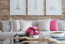 Home Sweet Abode / living room, family room, bathroom, kitchen, decorating, sofa, couch