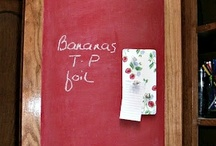 Chalk Boards | Chalk Paint / DIY Chalk boards and chalk paint ideas / by itsMolly