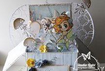 Inspiratie! / Hier vindt u leuke dingen die gemaakt zijn met producten van Studio Light! U vind ze op www.studiolight.nl