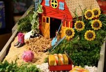 Mini Gardens / Miniature and fairy garden inspiration