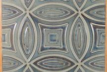 Rookwood Pottery | Tile Collection / Beautiful glazes and wondrous shapes/patterns / by Filmore Clark