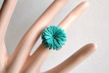 Quilled Jewelry / Paper Jewelry made with quilling paper. / by itsMolly