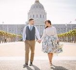San Francisco Engagement Sessions / How to Dress for Your Engagement Session. Suggestions and examples on how to show your style and show off your personality!