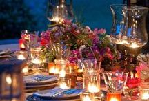 Let Me Entertain You / Outdoor and nature inspired entertaining ideas.