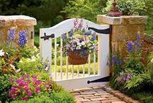 Garden Gates / Beautiful and unique garden gates.