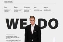 WEB DESIGN / I like one page designs, beautiful GUIs, textures, simple, clean, grids, dope webfonts, and the rest of which you see here.