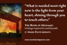 """Inspiration from The Book of Messages / """"You are a being of such immense power that were you able see it fully, you might not believe it was you. It is."""" • The Book of Messages: Writings Inspired by Melchizedek - A book of profound and transformative inspiration celebrated by readers around the world. • Be inspired today: Get your copy in paperback or ebook from your favorite online bookseller or www.mdgmediainternational.com"""