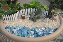 Miniature - Yard & Garden / Miniature gardens, container gardens, small plants / by Kundry