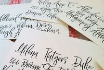 CALLIGRAPHY / Calligraphy and flourishes