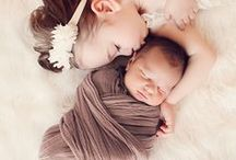 0-1 SIBLINGS newborn photography inspirations / newborn photography