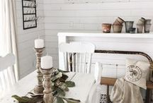 // Farmhouse Style / Farmhouse Style, Home Decor, Interior Design, Cottage Style, Decor, Country Decor, Joanna Gaines Style, Decor Ideas, DIY, Decor Tips