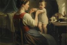 ART:  Mother and child and other paintings / Mother and child and other paintings: inspirations for fine art photography projects