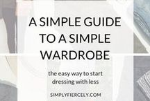Capsule Wardrobe / A capsule wardrobe is a small, well-curated wardrobe full of pieces you love that you can easily mix and max. Here you'll find helpful posts and outfit inspiration to help you create your own capsule wardrobe​. #capsulewardrobe