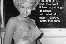 More Marilyn