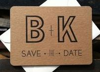 Wedding // Save the date