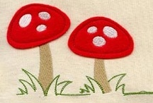 Embroidery projects...
