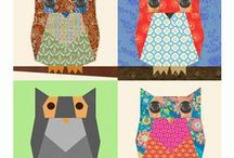 Birds of A Fiber / Started off collecting bird quilting ideas but ...