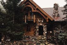 rustic home / I love mixing my rustic outdoorsy decor w/ a cabin feel/textile pattern. / by savannah
