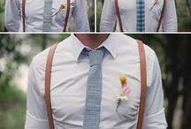 Wedding // Guys in suits