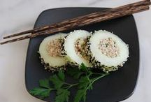 Sushi Food Love / Sharing my love for Sushi. Healthy sushi recipes, lunch ideas and sushi art.