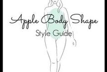 """Apple Shaped Body Fashion, Outfits and Style Advice from Stylist Toronto / Do you have a round, """"O"""" or apple shaped body? If you do your waist appears to be wider than your shoulders and hips when looking at your body from the front. Follow this board to get apple body shape fashion inspiration, outfit ideas and apple shape style advice from Stylist Toronto. You can also find more apple shaped body advice from Stylist Toronto by going to http://auraimageconsulting.com/2014/06/apple-body-shape/"""