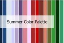 Summer Color Palette / Features: Personal features are usually more pale or muted. •Black or Ash brown hair •Pale or very white skin •Think faded, muted, grey and soft Shade: Light Undertone: Cool Intensity: Muted
