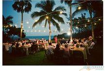 My wedding / main colors: ocean blue & beige