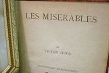 "Les Misérables / is a French historical novel by Victor Hugo, first published in 1862. It is considered one of the greatest novels of the 19th century. In Hugo's words, ""The book is a progress from evil to good, from injustice to justice, from falsehood to truth, from night to day, from appetite to conscience, from corruption to life; from bestiality to duty, from hell to heaven, from nothingness to God. The starting point: matter, destination: the soul. The hydra at the beginning, the angel at the end."" / by Desi Anders"