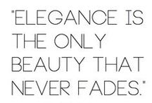 Fashion & Beauty Qoutes / Fashion, beauty and style quotes.