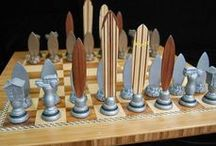 Chess Art / Chess pieces that are considered art.