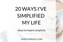 Minimalism / Find out more about minimalism and living a minimalist lifestyle. You'll find pins about: decluttering tips, slow living, simple living, getting started with minimalism, decluttering guides, minimalist quotes and more!