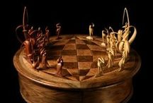 Handmade Chess Sets & Boards / Some of the finest quality chess sets that are handmade.