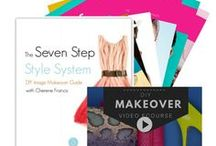 Style & Fashion Tutorials, eBooks and Guides / Get the Aura Image Consulting Style Makeover Bundle Set!  Give your image and personal style a total makeover using all resources from Cherene's Seven Step Style System Series.   Look more attractive and stylish Create your own distinct style Detox your wardrobe and make a plan for shopping Get a wardrobe that fits your personality, body shape and lifestyle