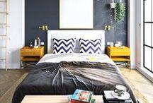 Master Bedroom project / #interiordesign #interior #bedroom #3dsmax #white #cozy