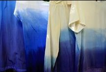 fabric dyeing / by Heather